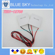 10PCS/LOT TEC1-12706 12706 TEC Thermoelectric Cooler Peltier 12V New of semiconductor refrigeration TEC1-12706