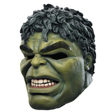 2017 Head rubber latex mask cartoon hulk mask for carnival and party halloween masquerade masks