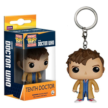 Funko Pop Doctor Who Tenth Doctor Action Figure With Retail Box PVC Keychain Toys Christmas Gift