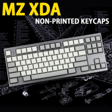 XDA 141 Keys Full Set Keyset Blank Similar to DSA For MX Mechanical Keyboard Steelseries Ergo Filco Leopold Cosair Noppoo Planck