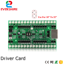 4/5/6 Numbers Driver Card Use For 18 inch to 32 inch LED Digital Number Module Gas Oil Price LED Sign Control Card(China)