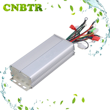 CNBTR Slivery Aluminium 48V 800W Electrocar Brushless Electric Motor Controller Electric Bike Controller for Electric Scooters