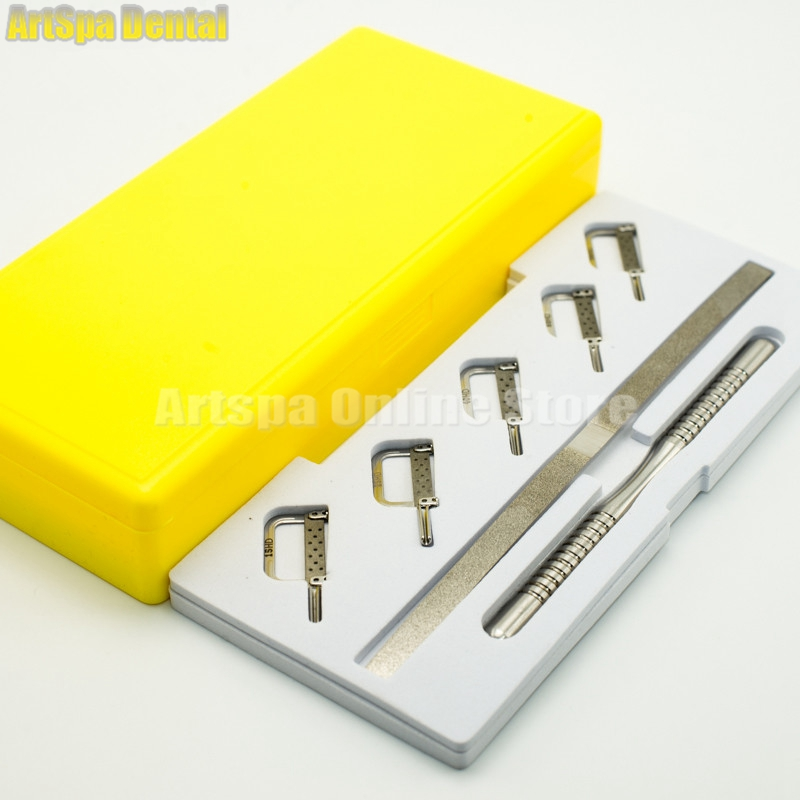 1-Set-Dental-Reciprocating-IPR-System-Kit-Automatic-Strips-5-pcs-with-Manual-Handle-for-dental