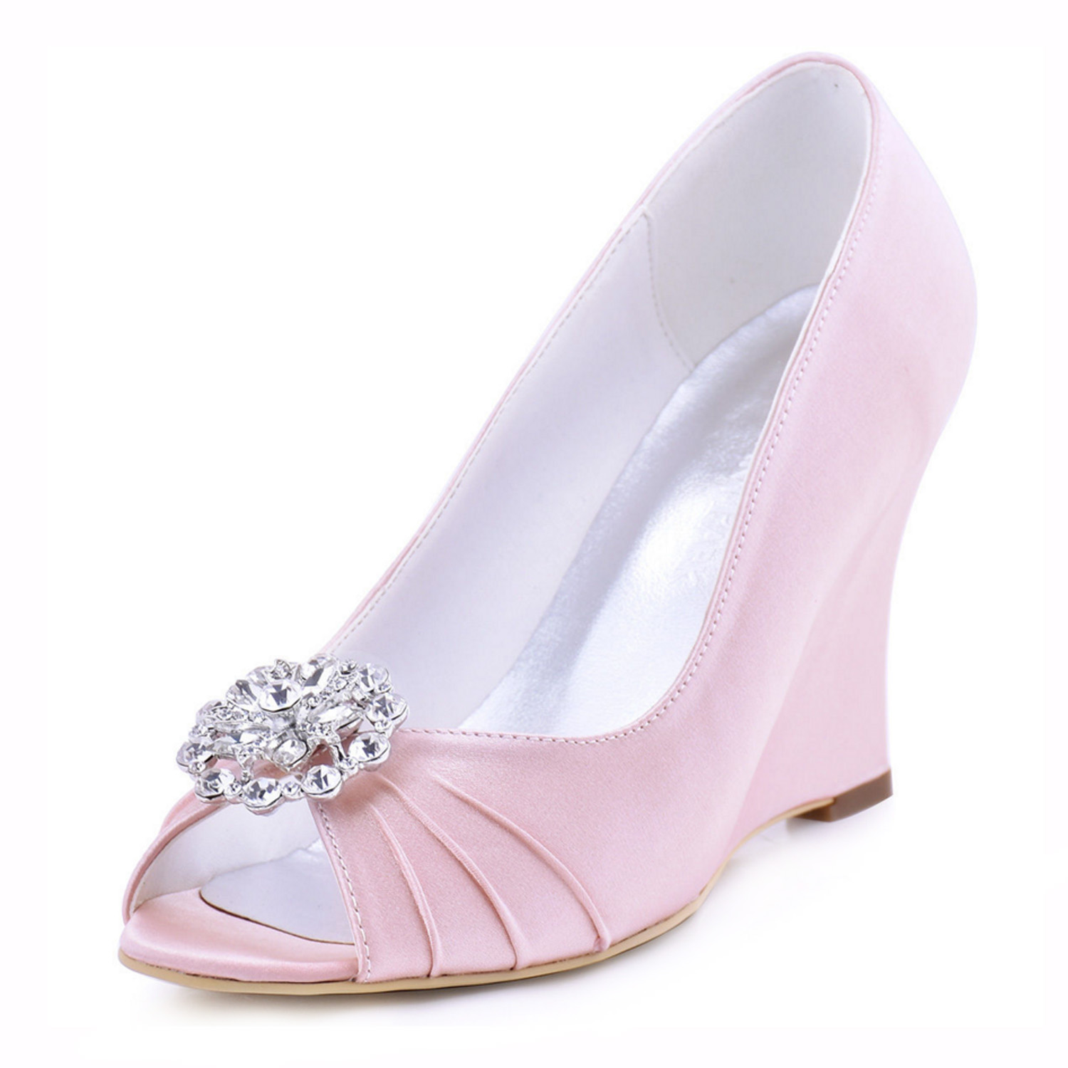 2016 Highly Recommended New Arrival Summer Fashion Sandals Rhinestone Wedding Bridal Dress Shoes<br><br>Aliexpress