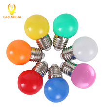 1pcs Home Lighting Colorful Led Bulb E27 3w Energy Saving White Red Blue Green Yellow Orange Pink Lamp Light Smd 2835