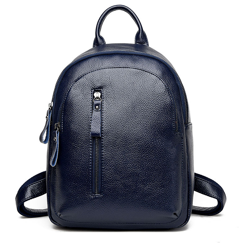 2017 Fashion Women Backpack PU Leather School Shoulder Bag Female Small Portable Backpack For Teenager Girls<br>