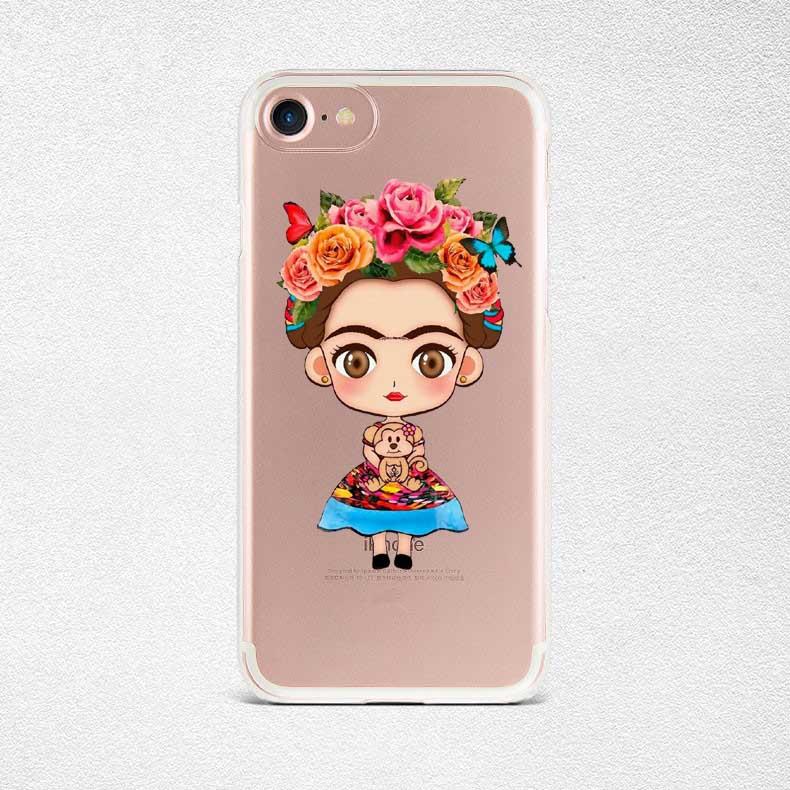 Phone Cases frida kahlo daft punk Soft silicone TPU Cover For Apple iPhone SE 5 5S 6 6S Plus 7 7 Plus Black Cover Capa