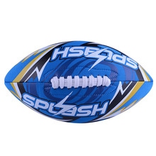 Durable Rugby Ball Size 9 Rugby Ball American Football Swimming Beach Rugby Ball Beach Pool For Children Training And Match(China)