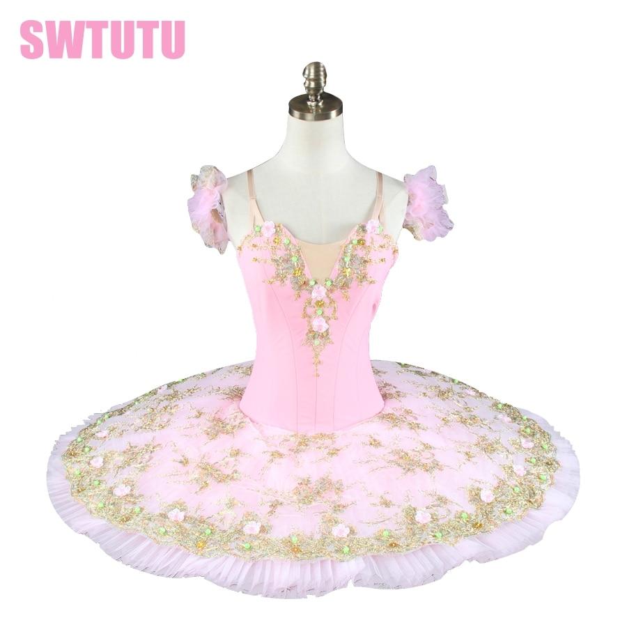 women professional ballet tutu pink girl tutu ballet kids ballet tutu pink classical ballet costumes BT8991