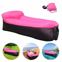 Sleeping bag Inflatable Sofa Air Bed Chair Sleeping Bag Mattress Seat Couch Camping