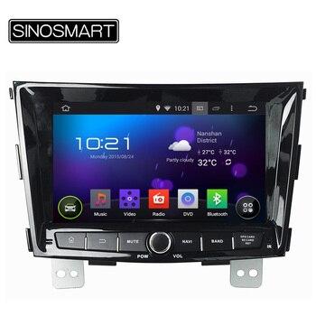 SINOSMART NO DVD 1.6 GHz, Quad Core Mise À Jour 8 Pouce Android 5.1 Voiture GPS pour SsangYong Tivoli Tivolan sans Canbus