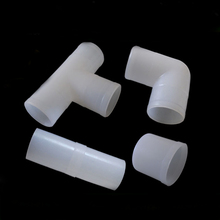 Free Shipping Chicken waterline accessories 25 mm PVC breeding 6 point - three - way through elbow pipe fittings plastic piped10
