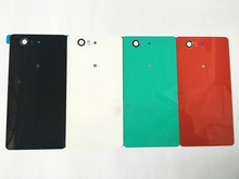 For Sony Xperia Z3 Compact/ Z3 Mini D5803 D5833  Rear Glass Battery Door Back Cover Housing Replacement OEM Phone Parts