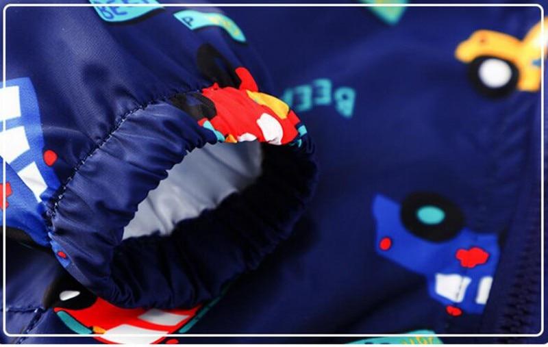 CROAL CHERIE 80-130cm Autumn Outerwear Coats Boys Kids Jacket For Girls Cartoon Car Printing 2018 Spring Children Clothing  (6)