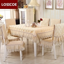 High Grade Quilting Cloth Table Chair Cover 20 Style Pattern Quilted Lace Embroidered Tablecloths