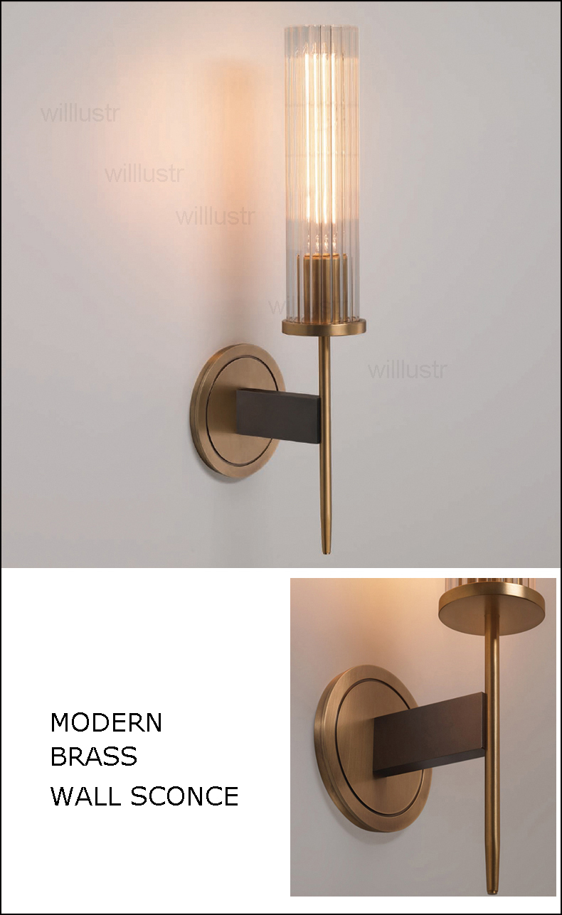 copper wall sconce light