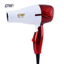 GUOWEI Mini 1200W Hair Dryer Foldable Portable Traveller Compact Blower With Thermostatic Function(China)