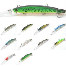 wLure Fishing Lure Hard Bait Medium Diver Tight Wobble Jerkbait Slow Floating Sinking Gill Design Minnow Crankbait M650