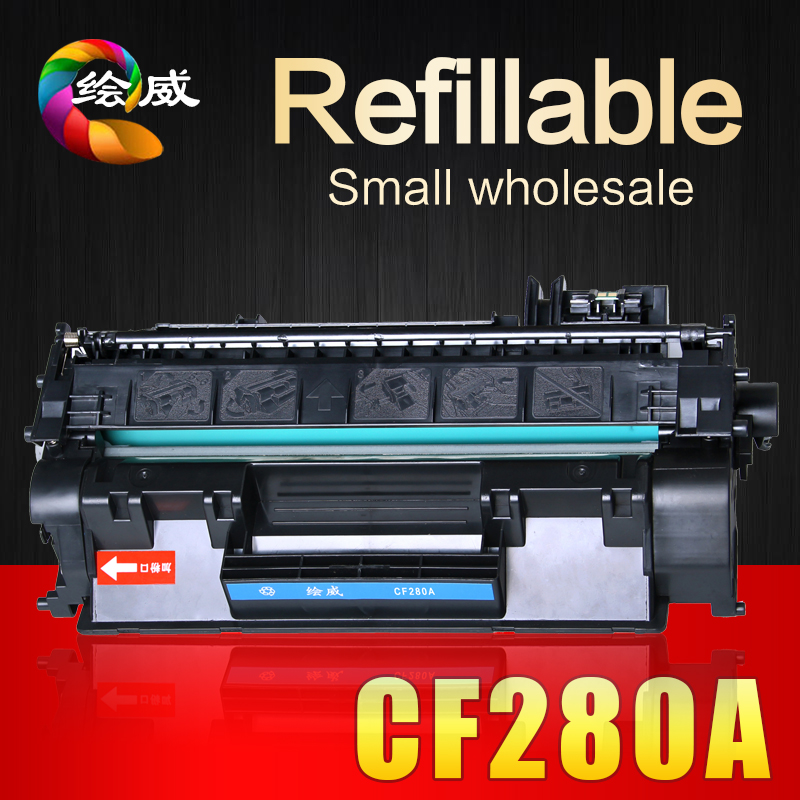 CF280A 80a 280a 280 compatible toner cartridge for HP Laserjet 400M 401DN printers buy-direct-from-china <br><br>Aliexpress