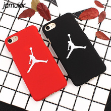 JAMULAR Flying Michael Jordan Hard Case For iphone 7 8 Plus Back Cover For iphone 6 6s 8 Plus SE 5S Cases Fundas Coque Covers(China)