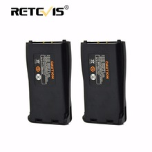 2pcs Walkie Talkie Battery DC 3.7V 2800mAh Rechargeable Li-ion Battery For Retevis H-777 H777 For Baofeng 777S BF-888S BF-666S