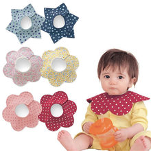 Baby Bibs Round Neck Burp 360 Degree Cloths Baby Slabbers Infantil Bandana Bibs For Infant Toddler Baby Kids Girl Boy 2017 New