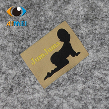 Free Design & Free Shipping Customized 1000pcs/lot woven labels/ Women men children clothing labels / shoes main labels SL001(China)