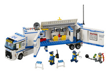 BELA City Police Mobile Police Unit Building Blocks Classic For Girl Boy Kids Model Toys  Marvel Compatible Legoe