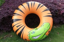 Crocodile Inflatable Beach Toy Thicken outdoor Kid's boat Water play toy children inflatable Summer Water Pool swan Ring circle