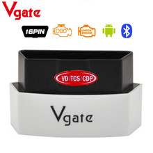 5pcs/lot Small Vgate ICAR 3 Icar3 Bluetooth Better Than ELM327 Vgate Support OBDII Protocols For Android PC 5 Colors Available