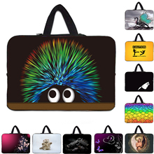 "Hot New 10"" 12"" 13"" 14"" 15"" 17 15.6"" 13.3"" Laptop Sleeve Bag Handel Carry Cover Cases For Macbook Air Pro Retina 11 13 15 Tab PC(China)"