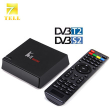 KII PRO S2 T2 2GB 16GB Hybird STB DVB-T2 DVB-S2 K2 Android 5.1 TV BOX Amlogic S905 BT4.0 Dual WIFI KODI 16.1 IPTV Smart BOX