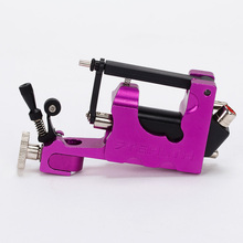 STEALTH ROTARY Aluminum Rotary Tattoo Machine Strong Consistent  Power for Shader & Liner Purple one