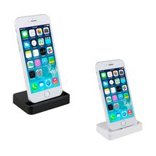 GEUMXL Dock Charger Sync Data Docking Station Charging Desktop Cradle Stand for iphone 5 5s 5c 6 6s plus(China)