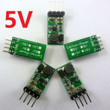 5x dc dc step up boost converter module 3V 3.3V 3.7V to 5V voltage regulator for Arduino raspberry pi 3 18650 breadboard(China)