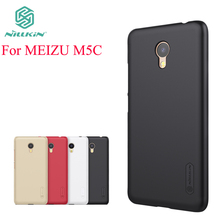 For MEIZU M5C Case Cover Nillkin Case For MEIZU M5C Hight Quality Super Frosted Shield Cover For MEIZU M5C +Screen Protector