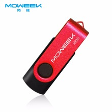 MOWEEK usb 3.0 high speed usb flash drive 2017 Swiveling metal usb stick 128G 64G 32G 16G 8G pen drive usb flash disk for gift