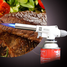 920 Wind Fully Automatic Electronic Flame Gun Butane Burners Gas Adapter Torch Lighter Hiking Camping Equipment Proof Waterproof(China)