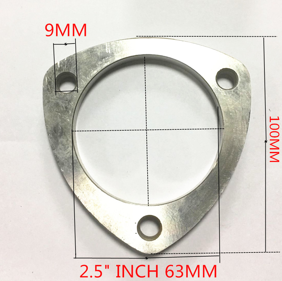 "3/"" Weld On Stainless Steel Adapter Flange Quarter Inch Thick Connection Headers"