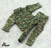 1/6 soldiers camouflage uniforms uniforms British Royal Marine Corps clothes pants Action Figures(China)