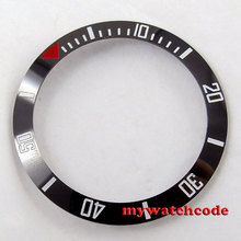38mm black ceramic bezel insert for 40mm watch made by parnis factory 27