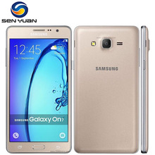 Original Samsung Galaxy On7 G6000 Mobile Phone 8GB ROM 1.5 RAM 13MP Camera Quad Core Dual sim card samsung galaxy on 7 phone(China)