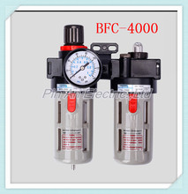 "BFC4000 Free Shipping 1/2"" Air Filter Regulator Combination Lubricator ,FRL Two Union Treatment ,BFR4000 + BL4000"