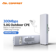 3-5km Comfast 5G outdoor wifi repeater rj45 CPE bridge 300M long range wi fi Signal Booster extender 2*14dbi Antenna Wireless AP