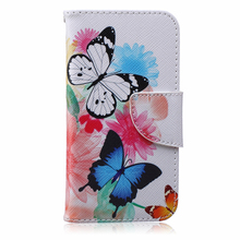 New 5 Painted Pattern Fundas Coque Wallet Flip font b Case b font For font b