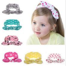Buy 1 PCS Fashion Baby Girl Dot Knot Headband Newborn Infant Hair Accessories Children Elastic Hair Bands KT015 for $1.02 in AliExpress store