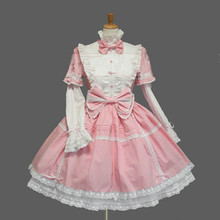 2015 New Japanese Anime Snow White Cosplay Halloween Costumes For Woman Blue Black Pink Cafe Sex Maid Clothes In Stock ZQ023