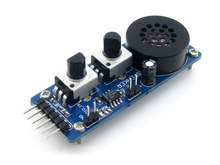 LM386 speaker amplifier module test board music player(China)