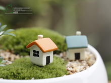 10 pcs/lot creative decoration Moss micro landscape plants doll furnishing articles Two color small home house DIY material