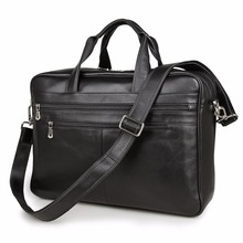 J.M.D 100% Genuine Leather Briefcase Laptop Bag Business Top Handle Men's Handbag 7319A/C(China)